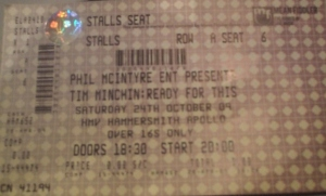 Tim Minchin - Hammersmith Apollo