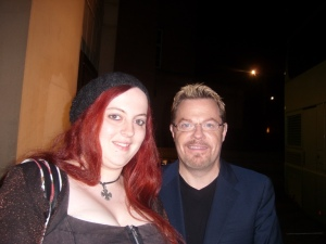 Me and Eddie Izzard *yay*